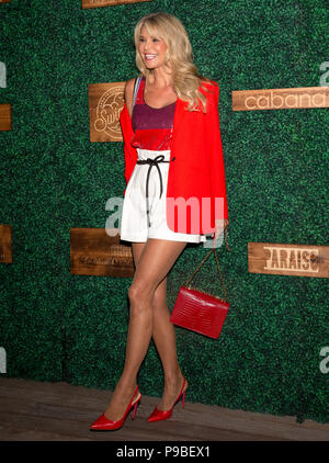 MIAMI, FL - JULY 15: Christie Brinkley attends the 2018 Sports Illustrated Swimsuit show at PARAISO during Miami Swim Week at The W Hotel South Beach