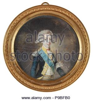 Portrait of Gustav IV Adolf of Sweden. Museum: PRIVATE COLLECTION. - Stock Photo
