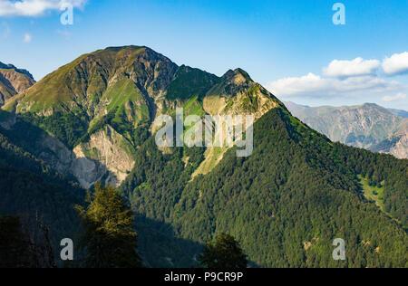 Mountains, forest, Azerbaijan - Stock Photo