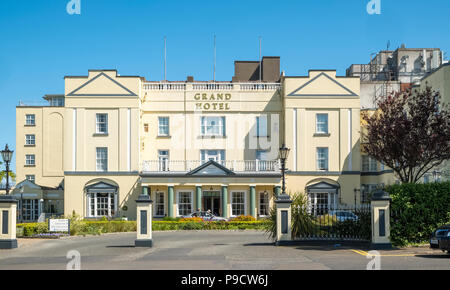 The Grand Hotel, Malahide, Fingal, Leinster, Co Dublin, Ireland, Europe - Stock Photo