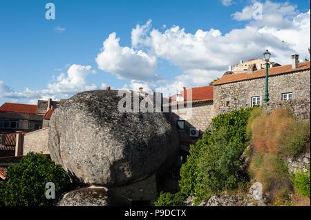 12.06.2018, Monsanto, Portugal, Europe - A view of the Portuguese mountain village of Monsanto. - Stock Photo