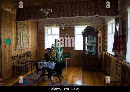 Interior house in the Museum of bread in Bolgar in Russia in the Republic of Tatarstan. Summer day. - Stock Photo