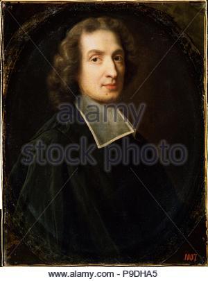 Portrait of the theologian and author Francois de Salignac de la Mothe-Fénelon (1651-1715). Museum: M. Kroshitsky Art Museum, Sevastopol. - Stock Photo