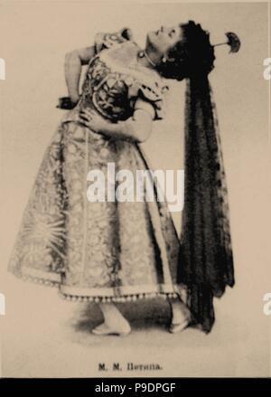 Prima ballerina Marie Petipa (1857-1930). Museum: PRIVATE COLLECTION. - Stock Photo