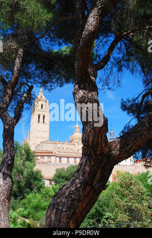 Cathedral. Segovia, Spain. - Stock Photo