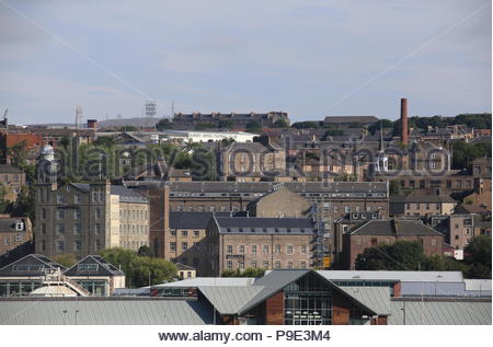 Distant view of Hotel Indigo Dundee Scotland  July 2018 - Stock Photo