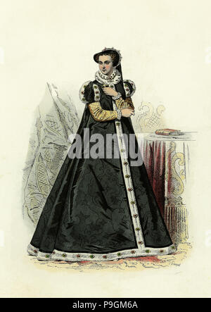 Mary I Tudor (1516-1558), Queen of England and Ireland from 1553 to 1558. Daughter of Henry VIII … - Stock Photo