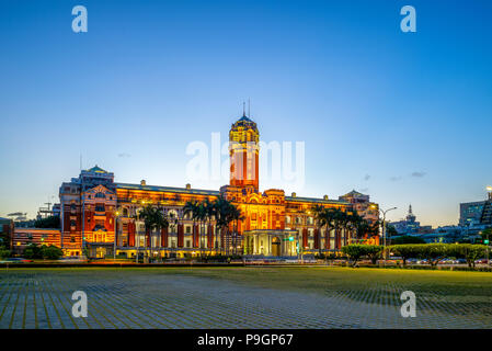 Presidential Office Building in Taipei, Taiwan - Stock Photo
