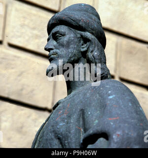 Abu al-Walid Muhammad ibn Rushd, known as Averroes (1126-1198), Arab-Andalusian philosopher, lawy… - Stock Photo