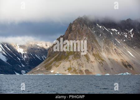 Landscape, Hornsund, Svalbard - Stock Photo