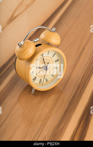 Watches on lacquered surfaces, reflection of objects. - Stock Photo