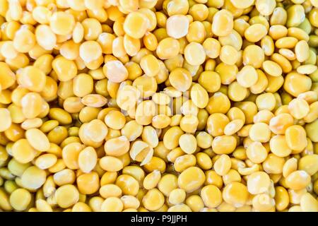 Lupin beans in salted water, background image - Stock Photo