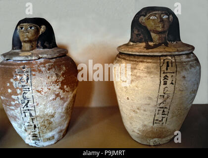 Canopic Vase In Clay Stock Photo 212467798 Alamy