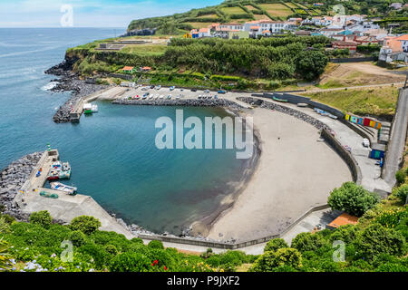 Porto Formosa on the north coast of Sao Miguel, The Azores - Stock Photo