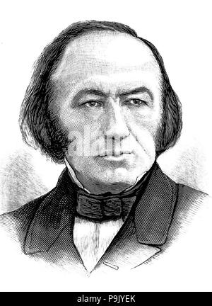 CLAUDE BERNARD (1813-1878) French physiologist - Stock Photo