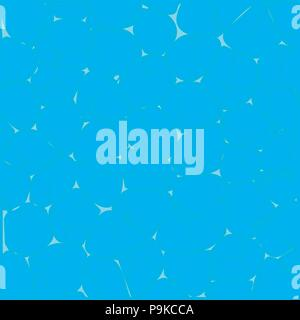 Abstract Design Creativity Background of Blue Waves, Vector Illustration EPS10 - Stock Photo
