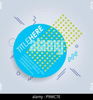 template infographic with circle figure vector illustration design - Stock Photo