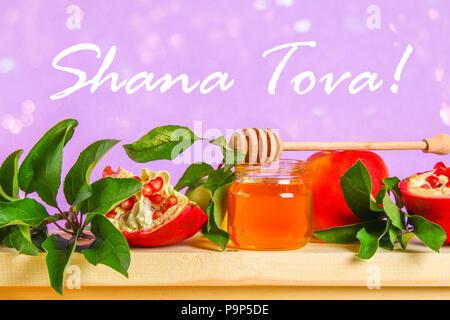 Shana Tova Symbol Stock Vector Art Illustration Vector Image