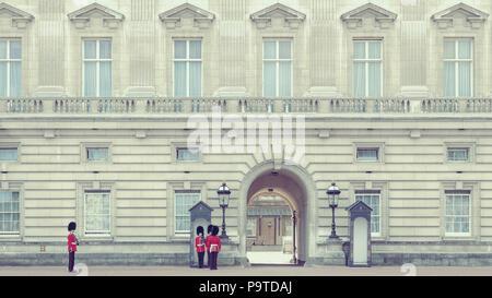 Buckingham Palace, London - UK - Stock Photo