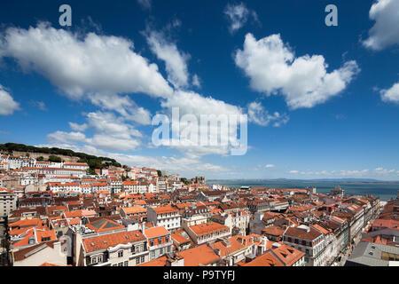 Lisbon City View - Stock Photo