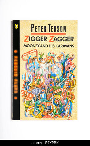 zigger zagger book written by peter terson - Stock Photo