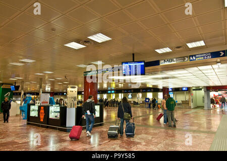 Italy,Emilia Romagna,Bologna-Borgo Panigale,Guglielmo Marconi airport - Stock Photo