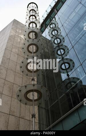 Plantation Place in London - Stock Photo