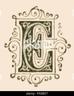 639 Fancy Letter N Image Stock Photo 212679811 Alamy
