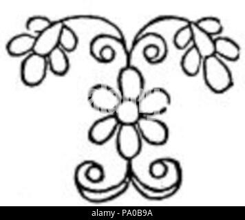 639 fancy letter t drawing stock photo
