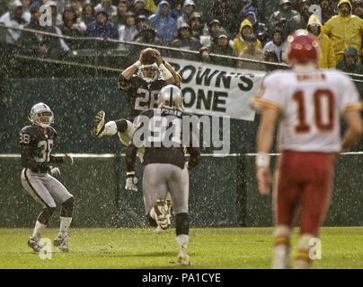 Oakland, California, USA  28th Dec, 2002  Oakland Raiders