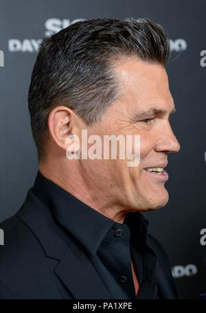 'Sicario: Day of the Soldado' Premiere - Arrivals  Featuring: Josh Brolin Where: NYC, New York, United States When: 18 Jun 2018 Credit: Patricia Schlein/WENN.com - Stock Photo