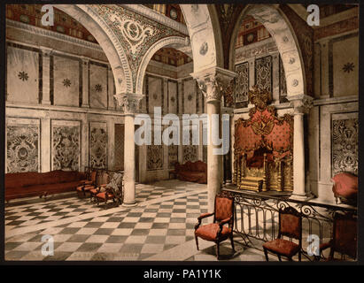 184 Bardo, tribunal chamber, Tunis, Tunisia-LCCN2001699392 - Stock Photo
