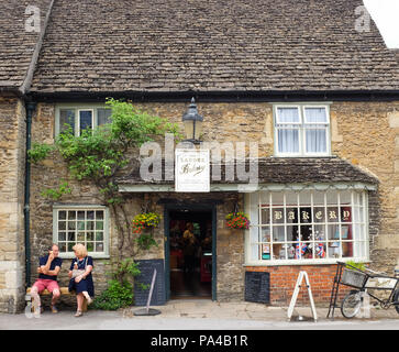 The bakery in the village of Lacock in Wiltshire, England. - Stock Photo