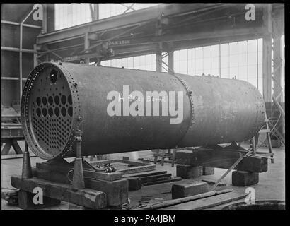 83 Firebox part for an A Class steam locomotive, showing a