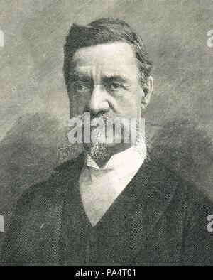 Sir Richard Temple II, 1st Baronet, administrator in British India - Stock Photo