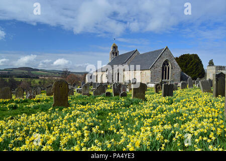 Ford Church, Northumberland - Stock Photo
