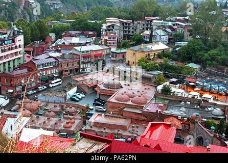Sulfuric Baths in Tbilisi, Georgia - Stock Photo