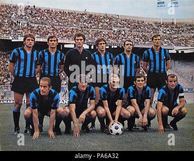 79 FC Internazionale Milano 1969-70 - Stock Photo