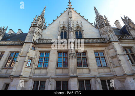 Palace of Justice of Rouen, the capital of the region of Upper Normandy , France. - Stock Photo