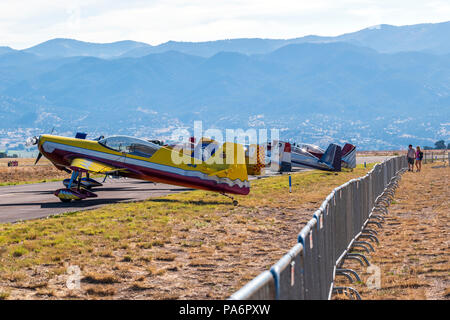 Van's Aircraft RV-8; Harriett Alexander Field; air show; Salida; Colorado; USA - Stock Photo