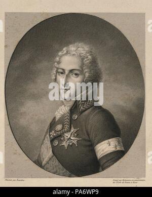 Louis Antoine de Bourbon, Duke of Enghien (1772-1804). Museum: PRIVATE COLLECTION. - Stock Photo
