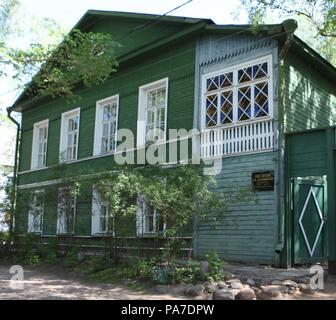 Dostoevsky's House in Staraya Russa. Museum: PRIVATE COLLECTION. - Stock Photo