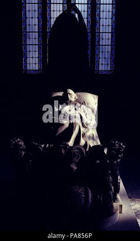 SEPULCRO DE EDUARDO DATO. Location: PANTEON DE HOMBRES ILUSTRES, MADRID, SPAIN. - Stock Photo