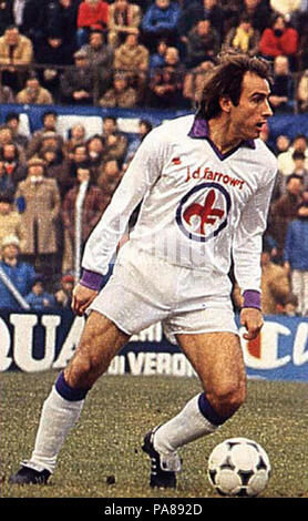 95 Francesco Graziani, Fiorentina - Stock Photo