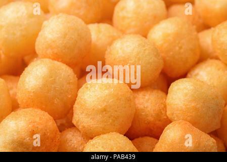 Close up of heese puff balls - Stock Photo