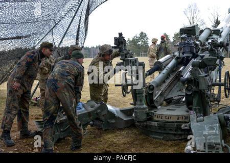 Us Army Staff Sgt Sven Kossligk Assigned To Field Artillery