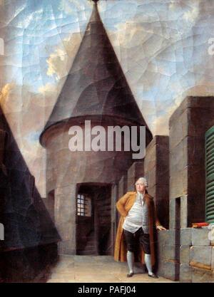 Louis XVI at the Tour du Temple Jean Francois Garneray - Stock Photo