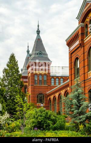 Arts and Industries Building, Smithsonian Museum, 900 Jefferson Drive SW, Washington DC - Stock Photo