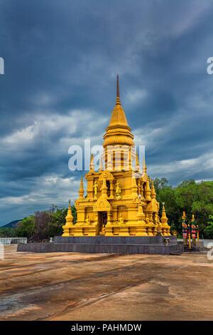 Laem Sor Pagoda on the island of Koh Samui in Thailand. - Stock Photo