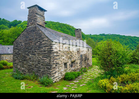Ty Mawr Wybrnant, Penmachno, Conwy, Wales, United Kingdom, Europe - Stock Photo